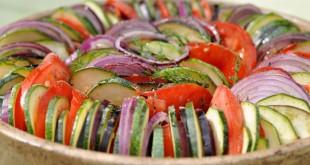 Recette Tian de légumes à la provençale