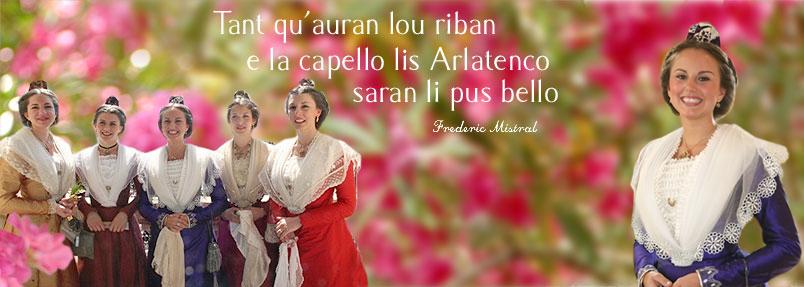 Histoire Reine d'Arles et des Demoiselles d'Honneur bandeau 02